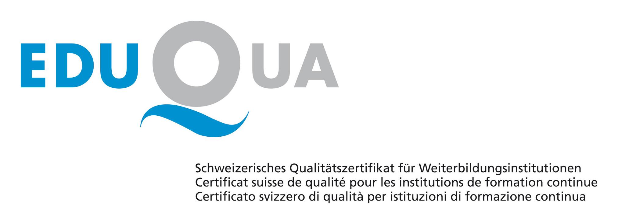Logo Eduqua Zertifizierung