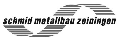 Logo schmid metallbau zeiningen