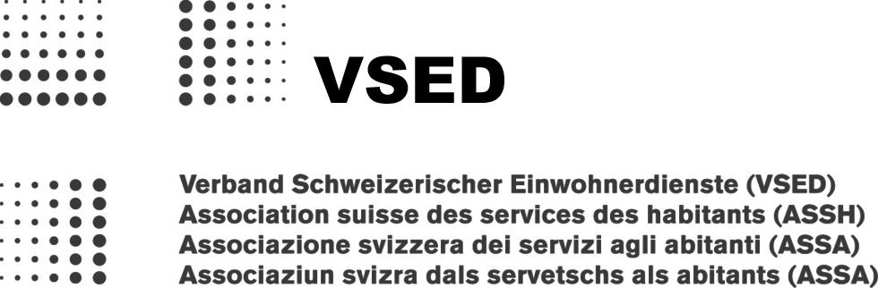 Logo VSED Verband Schweizerischer Einwohnerdienste